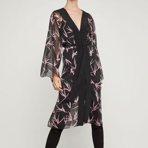 NWT BCBG MAXAZRIA BAMBOO BRANCHES DRESS SIZE S